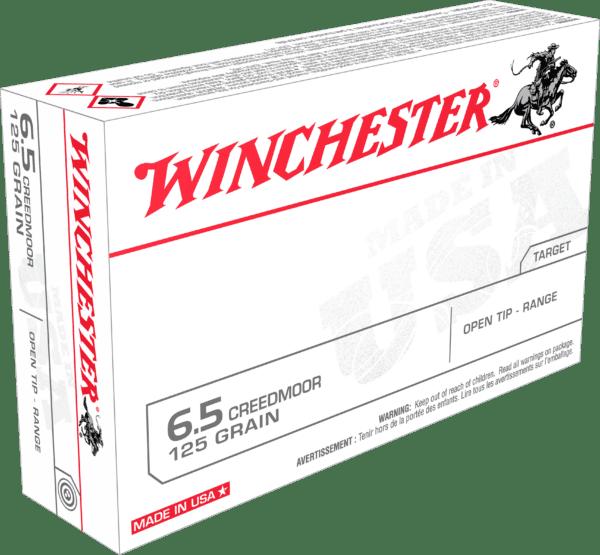 Winchester 6.5 Creedmoor 125 Gr Open Tip (20) USA