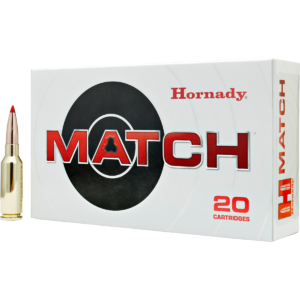 Hornady Ammo 6mm ARC 108 Grain ELD-M (Extremly Low Drag) Match (20)