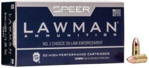 Speer 9MM 115 Gr TMJ Lawclean (50)