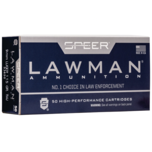 Speer 9MM 115 Gr TMJ Lawclean (50)