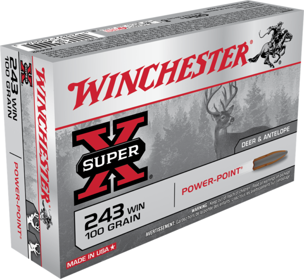 Winchester 243 Win 100 Grain Power Point (20)