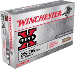 Winchester 25-06 Rem 90 Grain Expanding Point (20)