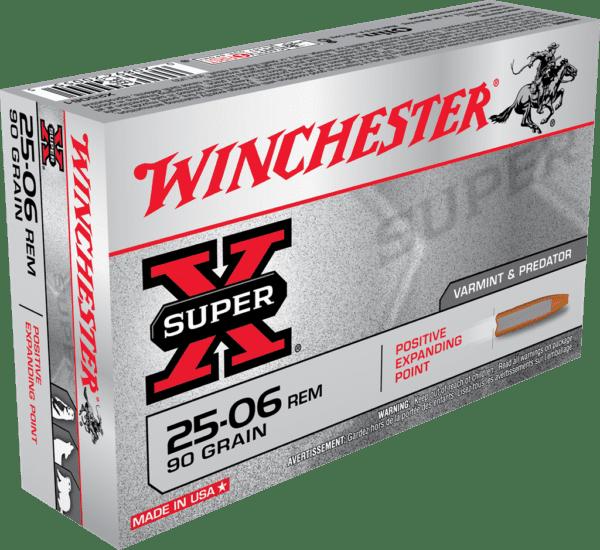 Winchester 25-06 Rem 90 Grain Expanding Point (20)