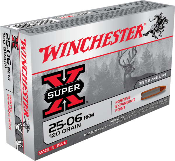 Winchester 25-06 Rem 120 Grain Expanding Point (20)