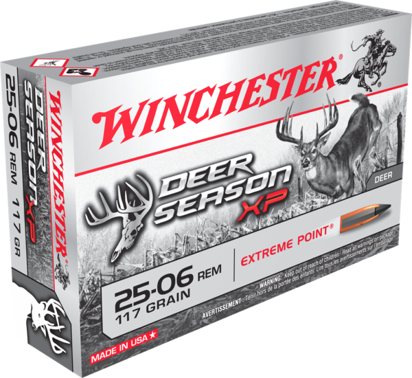 Winchester 25-06 Rem 117 Grain Deer Season Extreme Point (20)