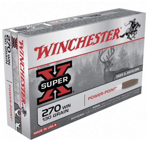 Winchester 270 Win 130 Grain Power Point (20)