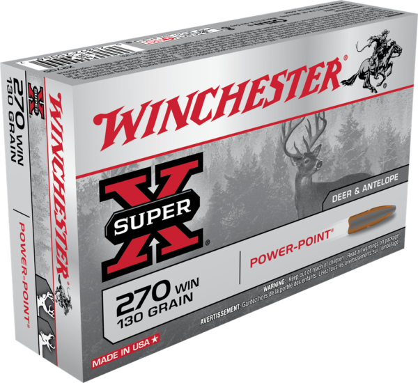 Winchester 270 Win 130 Grain Power Point (20)