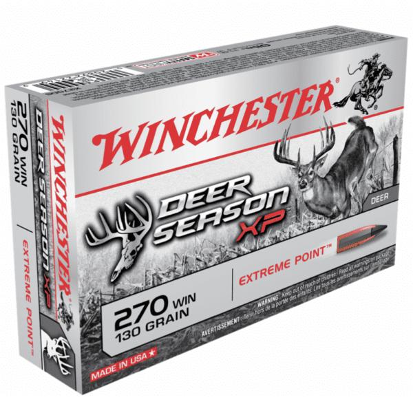 Winchester 270 Win 130 Grain Extreme Point Deer Season XP (20)