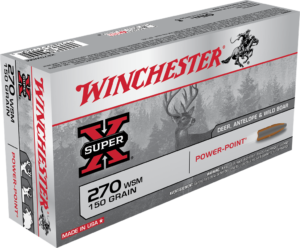 Winchester 270 WSM 150 Grain Power Point (20)