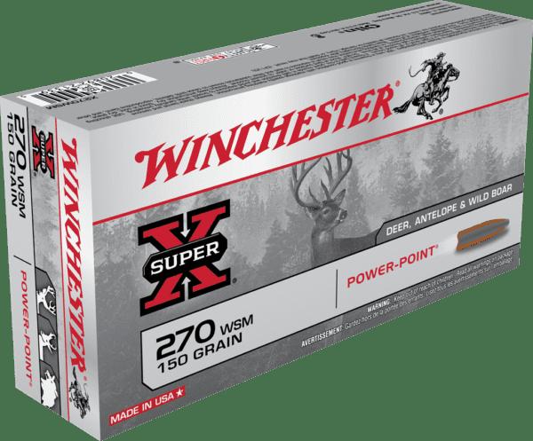 Winchester 270 WSM 150 Grain Power Point (20)