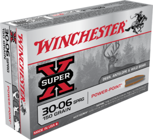 Winchester 30-06 Springfield 150 GR Super-X Power Point (20)