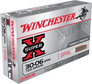 Winchester 30-06 Springfield 125 GR Super-X Jacketed Soft Point (20)