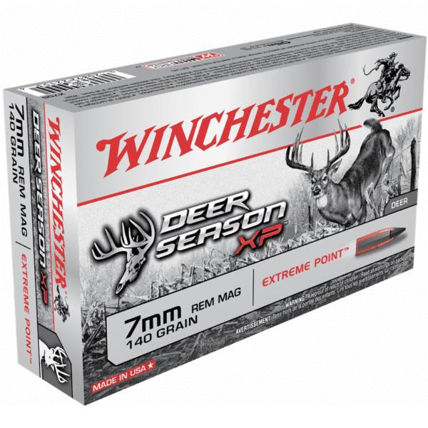 Winchester 7mm Rem Mag 140 Gr Extreme Point Deer Season XP (20)