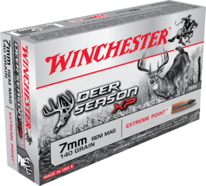 Winchester 7mm Rem Mag 140 Gr Extreme Point Deer Season XP (20)