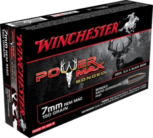 Winchester 7mm Rem Mag 150 Gr Bonded Hollow Point Power Max (20)