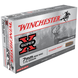 Winchester 7mm Rem Mag 175 Gr Power Point (20)