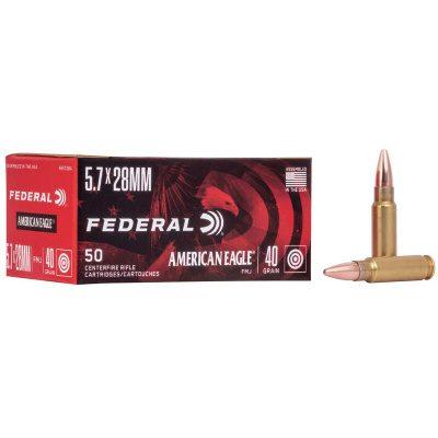 Federal 5.7x28 40 Gr FMJ (50) American Eagle