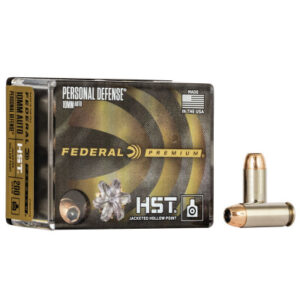 Federal 10mm 200 Gr HST JHP (20) Personal Defense