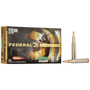 Federal 270 Win 130 Gr Sierra GameKing Boat-Tail Soft Point (20)