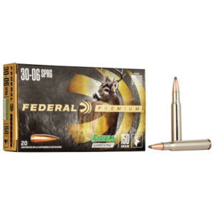 Federal 30-06 Springfield 165 Gr Sierra GameKing Boat-Tail Soft Point (20)