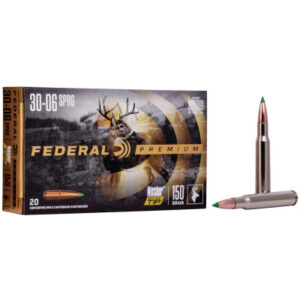 Federal 30-06 Springfield 150 Gr Nosler Ballistic Tip (20)