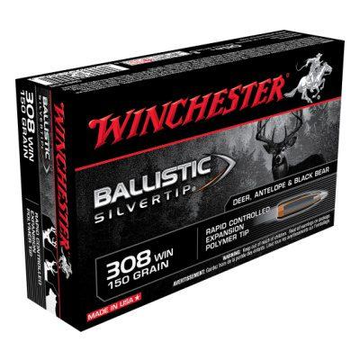 Winchester 308 Win 150 Grain Ballistic Silvertip (20)
