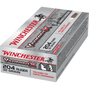 Winchester 204 Ruger 32 Grain Polymer Tip (20)