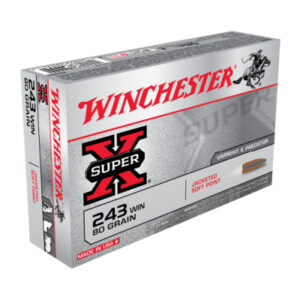 Winchester 243 Win 80 Grain Jacketed Soft Point (20)