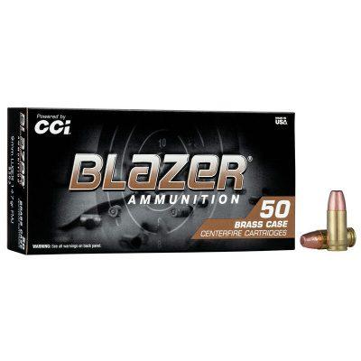 CCI Blazer Brass 9MM 147 Gr FMJ (50)