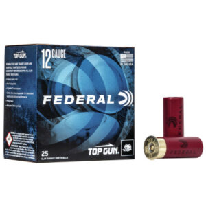 "Federal 12 Gauge 2 3/4"" 1 1/8 oz 8 Shot Top Gun (25) 1200 FPS"