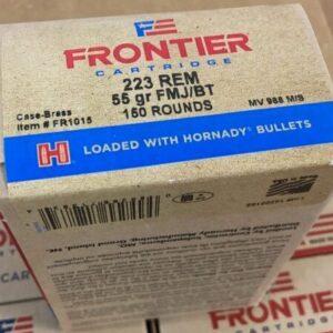 Frontier 223 Ammo 55 Grain