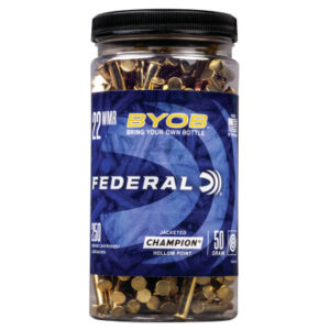 Federal 22 WMR 50 GR Game-Shok JHP (250 Rounds)