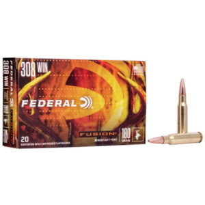 Federal 308 Win 180 Gr BT Fusion (20 Rounds)