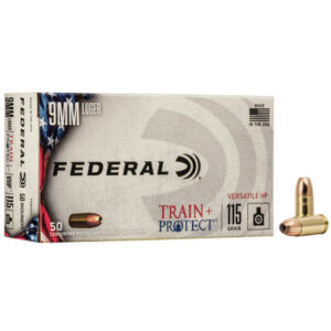 Federal 9MM 115 Gr Train + Protect VHP (50)