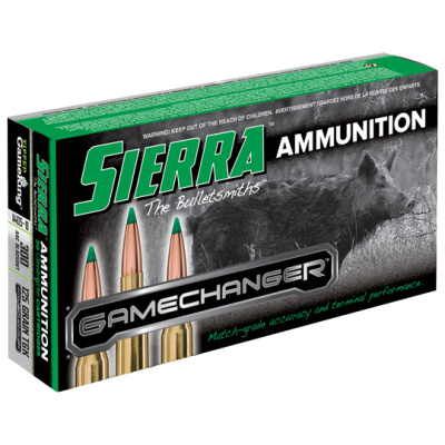 Sierra 300 Blackout 125 Grain TGK Game Changer Polymer Tipped Spitzer Boat Tail (20)