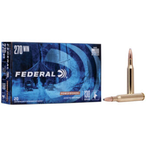 Federal 270 Win 130 Gr Power Shok SP (20)