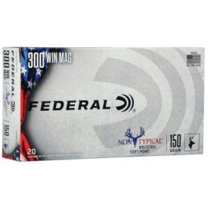 Federal 300 Win Mag 150 Gr Non-Typical SP (20)
