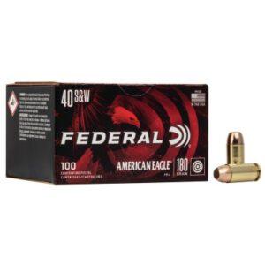 Federal 40 S&W 180 Gr FMJ American Eagle (100)
