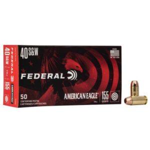 Federal 40 S&W 155 Gr American Eagle (50)