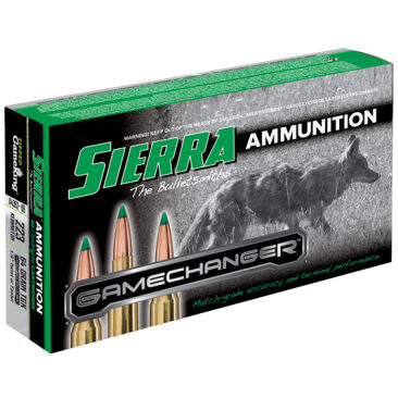 Sierra 223 Remington 64 Grain TGK Boat Tail Spitzer (20)