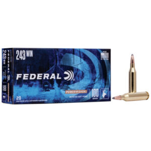 Federal 243 Win 100 Gr Soft Point Power Shok (20)