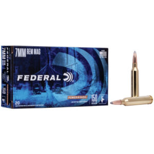Federal 7mm Rem Mag 150 Gr Soft Point Power Shok (20)