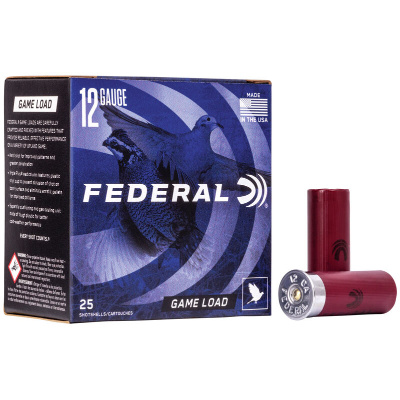 "Federal 12 Gauge 2 3/4"" 1 oz 7.5 Shot Upland Game Load (25) 1290 FPS"