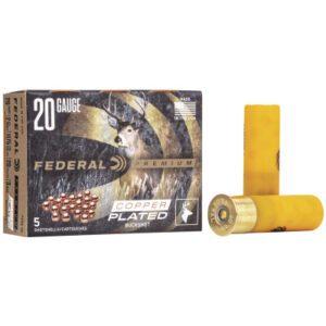 "Federal 20 Gauge Vital-Shok 2.75"" Buckshot 3 Buck (5)"