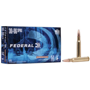 Federal 30-06 Springfield 150 Gr Power Shok SP (20)