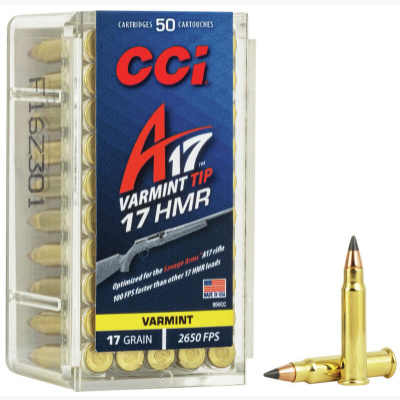 CCI 17 HMR 17 Gr A17 Polymer Tip (50)