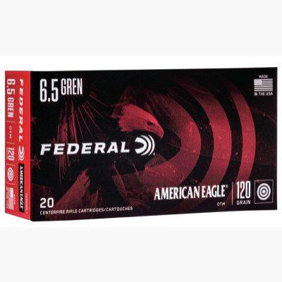 Federal 6.5 Grendel 120 Gr OTM American Eagle (20)