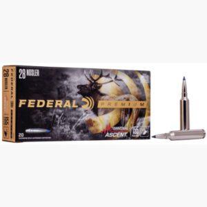 Federal 28 Nosler 155 Grain Terminal Ascent (20)
