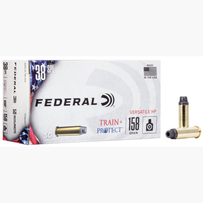 Federal 38 Special 158 Gr VHP Train + Protect (50)