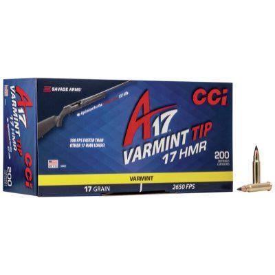 CCI 17 HMR 17 Gr A17 Polymer Tip (200)